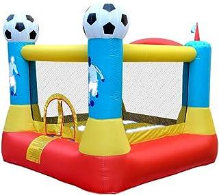 Castillo inflable para los niños Brincolines Inflables, Castillo Hinchable Inflable Patín Partido De Fútbol Partido Al Aire Libre For Los Niños Con Soplador De Aire Castillos hinchables para los niños