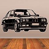 58x116 cm rétro voiture stickers muraux vieille Ford Mustang Decal vinyle décor école dortoir salon chambre bureau à domicile dortoir murale pochoir