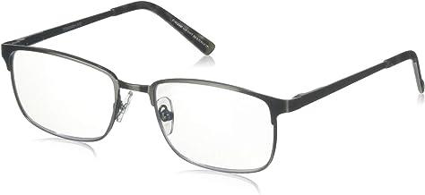 Foster Grant Men`s Braydon Multifocus Rectangular Reading Glasses