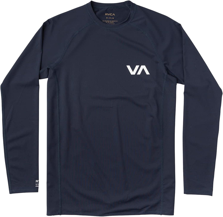 RVCA Men's Long Sleeve Rashguard