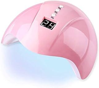 ZHTY Secador de fototerapia de uñas UV 36W Inducción Inteligente LED/Lámpara de uñas UV, Salón de Belleza de uñas para el hogar Inducción automática Horno seco Gel de Aceite de uñas seco