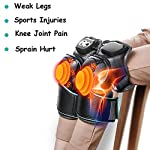 Heated Knee Massager, Electric Massage Knee with Heatvibration Massage Therapy Knee Warmer for Arthritis Muscles Injury Pain Relief