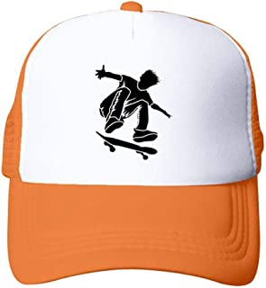 Skateboard Kick Flip Unisex Adult Cowboy Hat Sun Hat Adjustable Baseball Cap