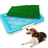 3April - Alfombra de césped artificial para inodoro de adiestramiento para mascotas