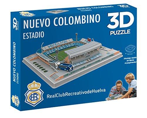 Eleven Force Puzzle Estadio 3D Nuevo Colombino (Recre), Multicolor, Ta