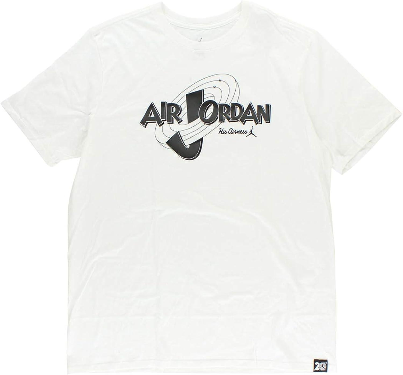 Nike Aj 11 Rings Tee - T-Shirt Herren, Farbe Wei, Gre