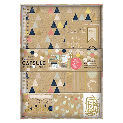 Docrafts Papermania Geometrische Kraft Spirale Scrapbook Kit, Multi