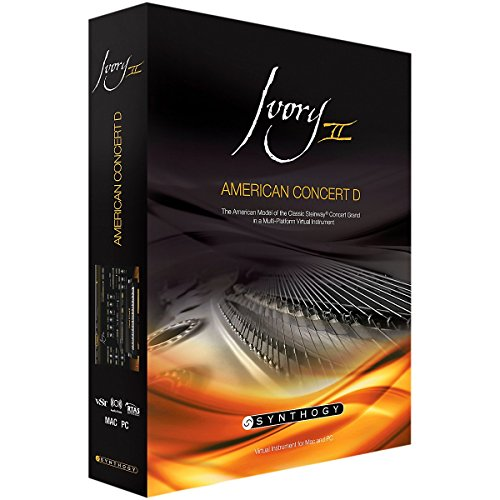 Ivory II American Concert D (iLok erforderlich!)