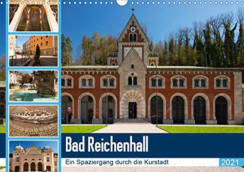 Bad Reichenhall (Wandkalender 2021 DIN A3 quer)