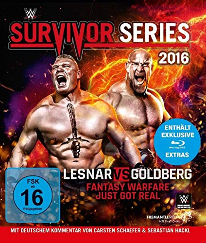 WWE - Survivor Series 2016 - Brock Lesnar [Blu-ray]