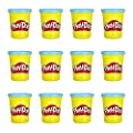 Play-Doh 12 Pack Case Non-Toxic Modeling Compound, 4-Ounce Cans by Play Doh