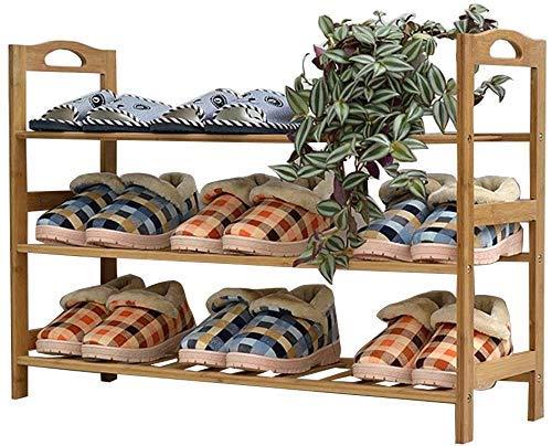 FGVBC Porche 3/5/6 Estantes para Zapatos de Almacenamiento de bambú Organizador a Prueba de Polvo Estantes Muebles para gabinetes (6 tamaños) Artículos para el hogar (Tamaño: 70 * 25.5 * 105cm)