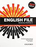 English File: Elementary. MultiPACK A with iTutor and iChecker: The best way to get your students talking