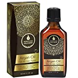 Moroccan Gold Series Argan Oil – Made with Pure Argan Oil of Morocco Enriched with Keratin – Revitalizing Hair Oil for Curly Frizzy Hair, Dry Damaged Hair and Growth, 1.7oz