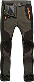 comprar comparacion YiLianDa Pantalones de Trekking Softshell Pantalones Impermeables Resistente Pantalones de Escalada