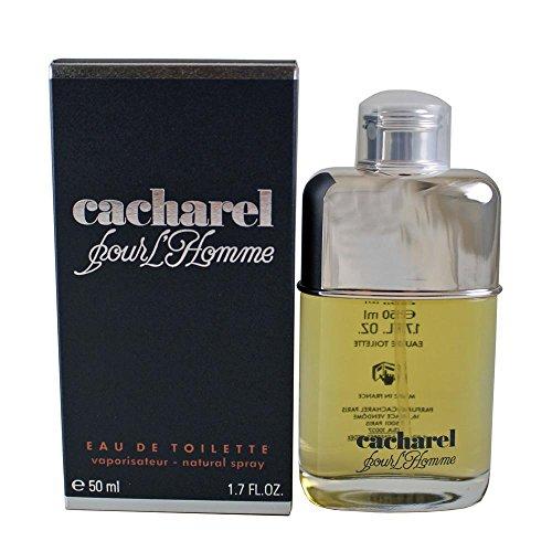 Cacharel Pour L'Homme - Agua de colonia para hombres, 50 ml