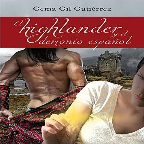 Diseño de la portada del título El Highlander y el Demonio Español