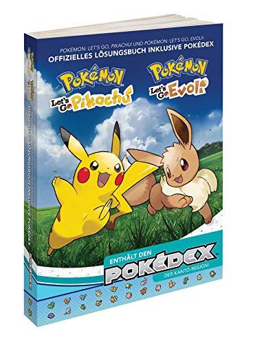 Pokémon - Let\'s Go, Pikachu! & Evoli! - Das offizielle Lösungsbuch und Pokédex