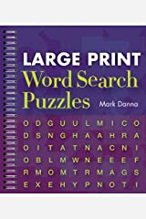 Large Print Word Search Puzzles Spiral-bound