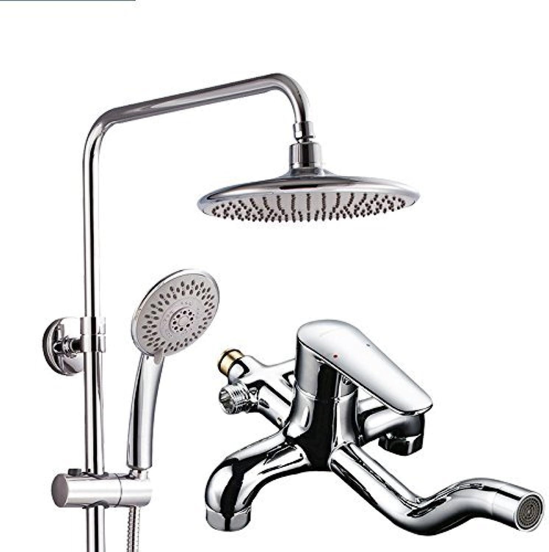 Dusche Heben Kupfer Dusche Anzug Booster Dusche Badewanne Gesetzt