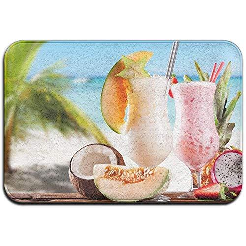 Joe-shop tapijt anti-slip vlek Fade bestendige deur Mat Hami meloen kokosnoot Pitaya sap outdoor indoor mat kamer tapijt