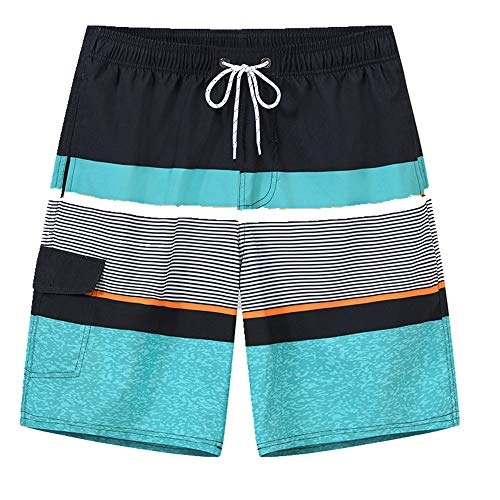 N\P Pantalones de playa para hombre de secado rápido de agua capris sueltos junto al mar pantalones antivergüenza caliente primavera pantalones de natación
