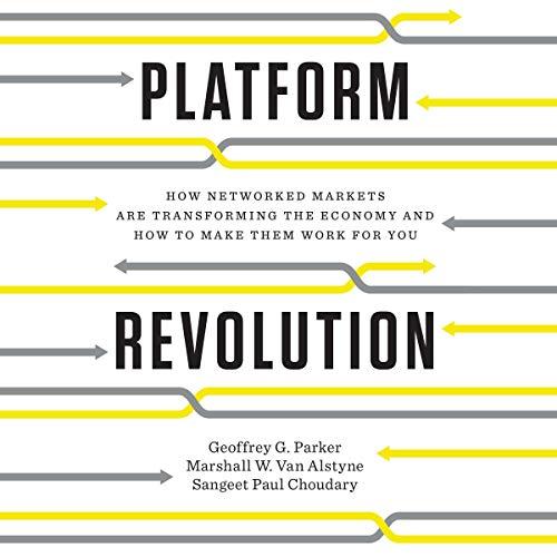 Platform Revolution audiobook cover art