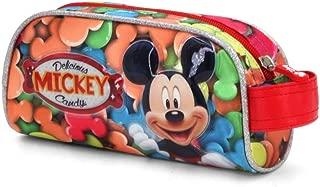 Mickey Mouse Federmäppchen Federmappe Schuletui Schlampermäppchen Pose