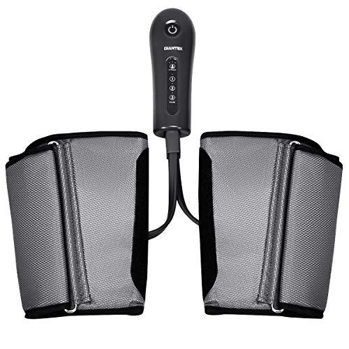 COSTWAY Beinmassagegerät Luftdruckmassage, Massagegerät für Beine, Fuß-Waden-Massagegerät 3 Modi und 3 Intensitäten, Venenmassagegerät Muskelentspannung