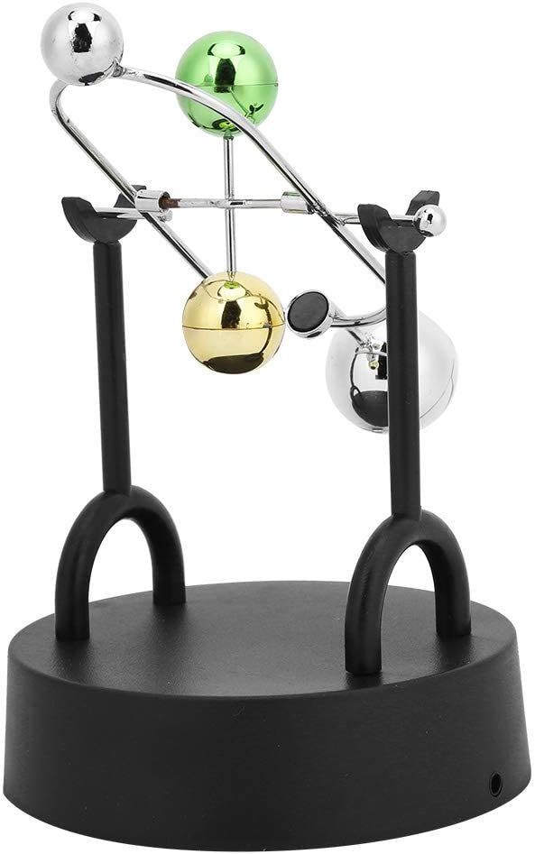 A003 Lecxin Bolas de p/éndulo Juguetes de Escritorio para Adultos P/éndulo de Bola Juguetes de Escritorio Gadgets de Ciencia para Escritorio para Estudio en el hogar de Oficina
