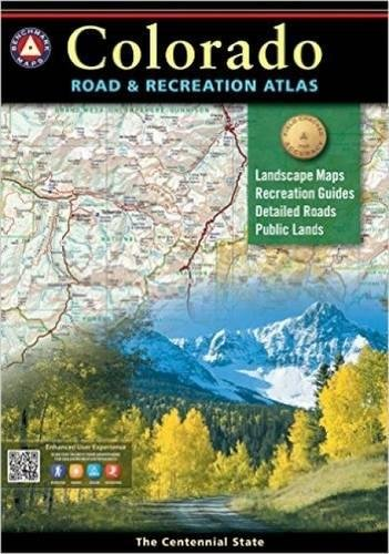 Benchmark Colorado Road & Recreation Atlas, 4th Edition: State Recreation Atlases Idioma Inglés
