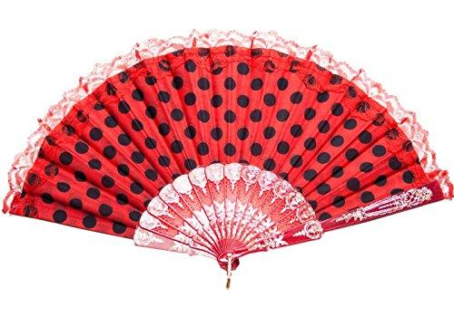 La Señorita - Rojo con puntos