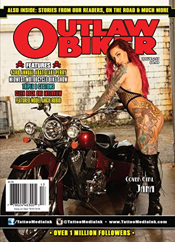 Outlaw Biker Magazine Issue 217
