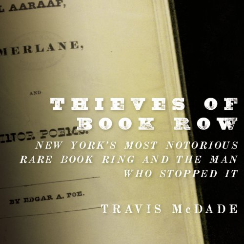 Thieves of Book Row audiobook cover art