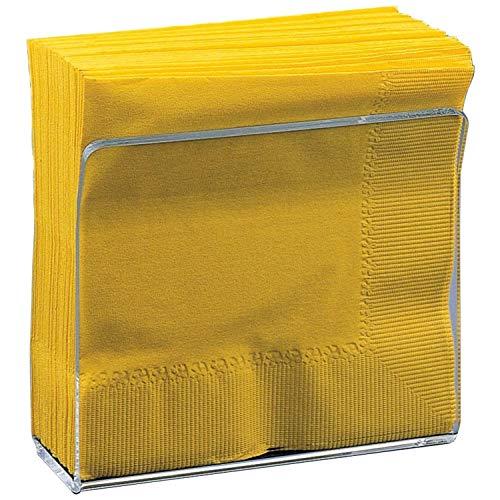 Deco-Mate Acrylic U Shape Napkin Stand Holder – Clear - Table Décor, (Bulk Set) Wholesale (1)
