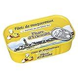 LE PHARE D'ECKMUHL - Filets De Maquereaux Au Vin Blanc Et Aromates Bio 118G - Lot De 4