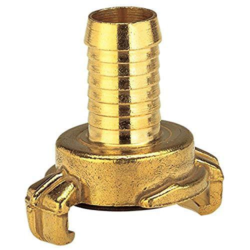 Gardena Messing-Schnellkupplungs-Schlauchstück: Schlauchadapter für 32 mm (1 1/4 Zoll)-Schläuche, Technische Armaturen von Gardena (7104-20)