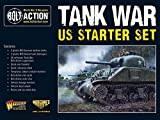 Wargames Delivered Tabletop Tanks Miniatures Game - World War Strategy Board Games - Warlord Games Bolt Action: Tank War US Starter Set - 28mm