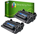 Printing Pleasure 2 Compatible CE390X 90X Toner Cartridges for HP Laserjet M4555 M601DN M601N M602 M602DN M602N M602X M603 M603DN M603N M603XH M4555DN M4555F M4555F<span class='highlight'><span class='highlight'>SKM</span></span> M4555H - Black, High Yield