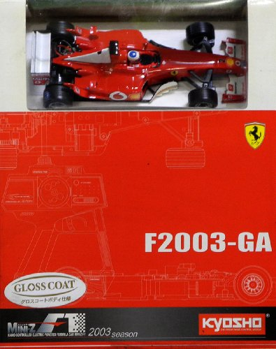 Kyosho 30302rb–Mini Kit Z F1Ferrari F2003GA, No. 2