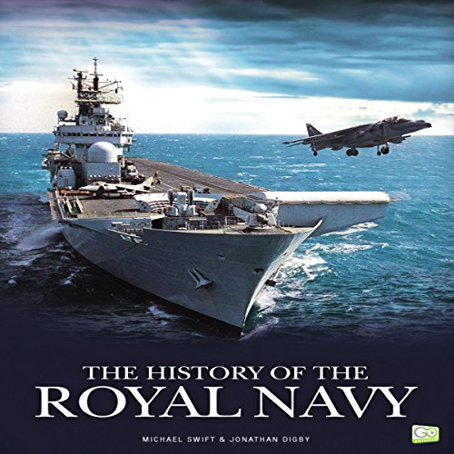 The History of the Royal Navy audiobook cover art