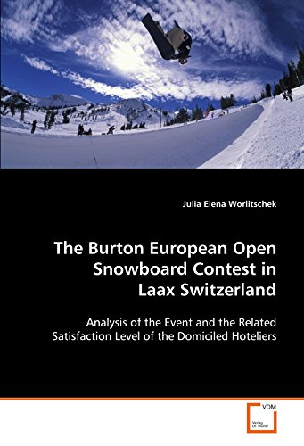 The Burton European Open Snowboard Contest in Laax Switzerland: Analysis of the event and the related satisfaction level of the domiciled hoteliers
