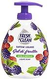 Fresh & Clean Flüssigseife, Brombeere & Cranberry, 300 ml