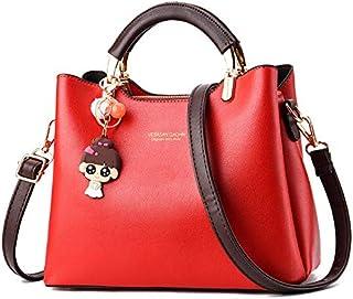 new ladies pure color handbag confident and comfortable fashion urban elegant and generous female bag