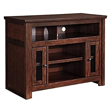 Ashley Furniture Signature Design - Harpan TV Stand - 42 in - Traditional Style - Brown