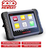Autel MK808 Diagnostic Scan Tool with All System Diagnosis and 25 Services, IMMO, Oil Reset, EPB, BMS, SAS, DPF, ABS Bleed, Combination of MaxiCheck Pro and MD802