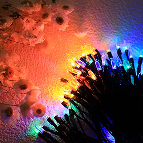 LED Fairy String Lights Curtain,Mini 120LED Hanging Twinkle Star Bulbs with...