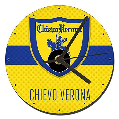MasTazas Associazione Calcio Chievo Verona Orologio CD Clock 12cm