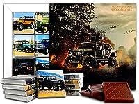 ジープ, Jeep, チョコレートギフトセット、13x13cm (Fire)