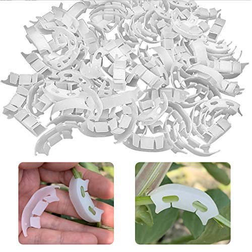 ZYP 100 Pcs Plant Bender, Tomato Branches Bender Bending Clips Plant Trainer for Low Stress Training (LST) (100pcs)